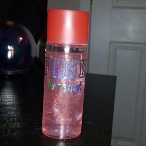 Pink Victoria's secret body spray